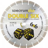 Spectrum DCX Double Six 350x20mm Diamond Blade (DCX350/20)